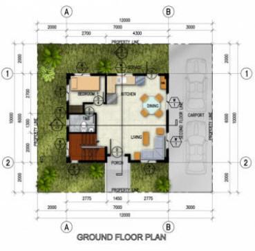 Northfield residences rentsaleph for Single detached house floor plan